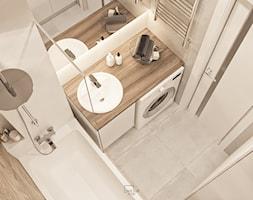 Mieszkanie w Mińsku - Łazienka, styl nowoczesny - zdjęcie od LINEUP STUDIO - Homebook