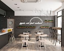 Adaptacja kawiarni w centrum Krakowa - Wnętrza publiczne, styl industrialny - zdjęcie od LINEUP STUDIO - Homebook