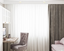 Neoklasyk Pod Krakowem - Biuro, styl glamour - zdjęcie od LINEUP STUDIO