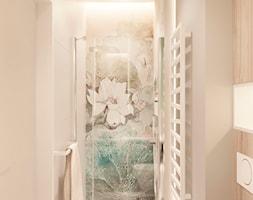 Dom jednorodzinny pod Krakowem - Mała szara łazienka w bloku w domu jednorodzinnym bez okna, styl ... - zdjęcie od LINEUP STUDIO - Homebook