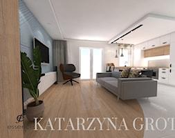 Salon+z+aneksem+kuchennym+-+zdj%C4%99cie+od+Katarzyna+Grot+Architektura+Wn%C4%99trz