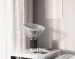 nad Skarpą - Mały szary salon, styl włoski - zdjęcie od Studio Salve