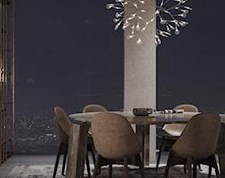 Apartament C90 - Jadalnia, styl włoski - zdjęcie od Studio Salve