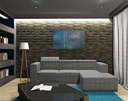 Koncepcja salonu we Wrocławiu - zdjęcie od Studio B Wnetrza i Design - Homebook