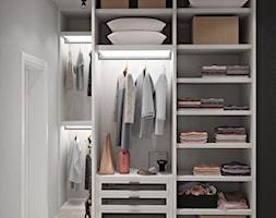 Ukraina / Kijów - projekt 2-poziomowego loftu - Średnia garderoba, styl nowoczesny - zdjęcie od ABD Projects - Homebook