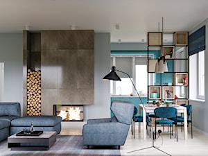 Nowy Dwór Gdański - projekt domu jednorodzinnego w stylu nowoczesnym