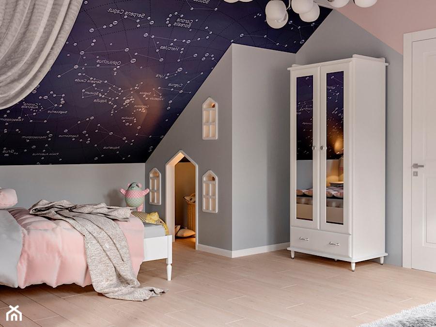Okolice Elbląga - projekt części domu jednorodzinnego - Pokój dziecka, styl tradycyjny - zdjęcie od ABD Projects