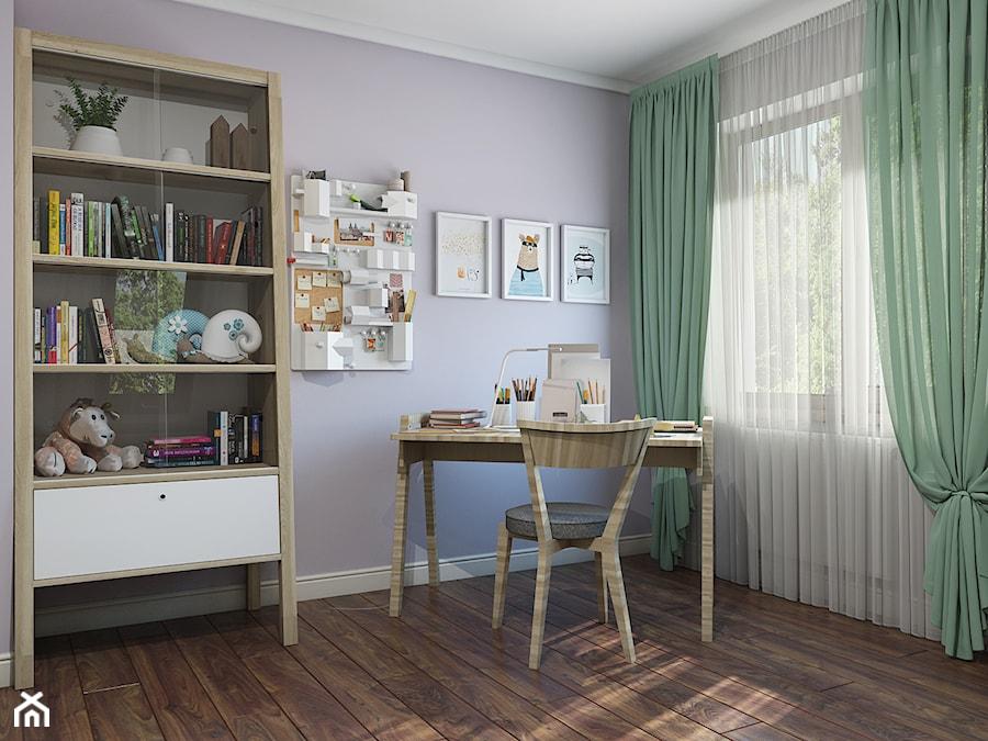 Aranżacje wnętrz - Pokój dziecka: Sztum - projekt domu jednorodzinnego w stylu klasycznym - Średni fioletowy pokój dziecka dla ucznia dla malucha, styl eklektyczny - ABD Projects. Przeglądaj, dodawaj i zapisuj najlepsze zdjęcia, pomysły i inspiracje designerskie. W bazie mamy już prawie milion fotografii!