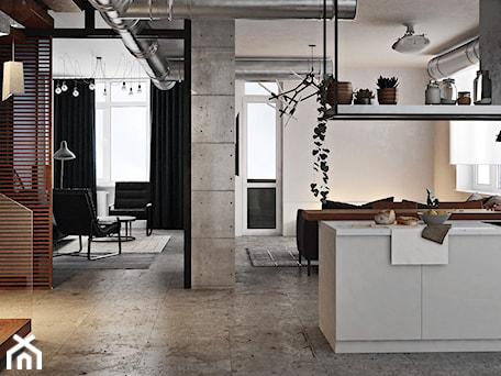 Aranżacje wnętrz - Kuchnia: Ukraina / Kijów - projekt 2-poziomowego loftu - Kuchnia, styl industrialny - ABD Projects. Przeglądaj, dodawaj i zapisuj najlepsze zdjęcia, pomysły i inspiracje designerskie. W bazie mamy już prawie milion fotografii!