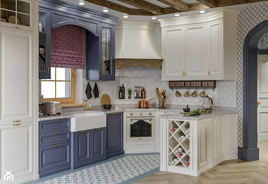 Berlin - projekt części wnętrz domu jednorodzinnego - Kuchnia, styl klasyczny - zdjęcie od ABD Projects