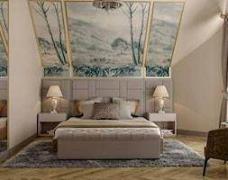 Berlin - projekt części wnętrz domu jednorodzinnego - Sypialnia, styl klasyczny - zdjęcie od ABD Projects - Homebook