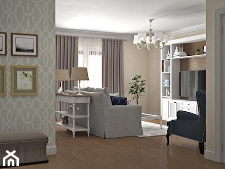 Aranżacje wnętrz - Salon: Elbląg - projekt mieszkania w stylu klasycznym - Mały szary salon, styl klasyczny - ABD Projects. Przeglądaj, dodawaj i zapisuj najlepsze zdjęcia, pomysły i inspiracje designerskie. W bazie mamy już prawie milion fotografii!