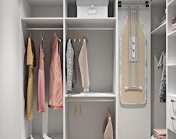 Elbląg - projekt mieszkania w stylu klasycznym - Średnia garderoba, styl minimalistyczny - zdjęcie od ABD Projects