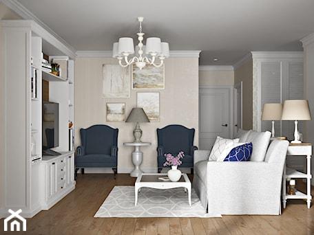 Aranżacje wnętrz - Salon: Elbląg - projekt mieszkania w stylu klasycznym - Średni szary salon, styl klasyczny - ABD Projects. Przeglądaj, dodawaj i zapisuj najlepsze zdjęcia, pomysły i inspiracje designerskie. W bazie mamy już prawie milion fotografii!