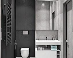 Ukraina / Kijów - projekt 2-poziomowego loftu - Łazienka, styl industrialny - zdjęcie od ABD Projects - Homebook