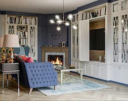 Berlin - projekt części wnętrz domu jednorodzinnego - Salon, styl klasyczny - zdjęcie od ABD Projects - Homebook