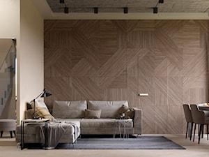 Ukraina / Bucza - 2-poziomowy apartament z tarasem w stylu nowoczesnym