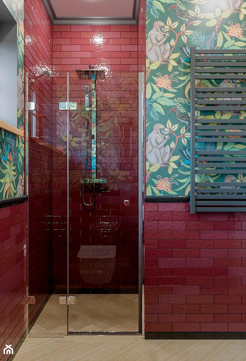 Berlin - projekt części wnętrz domu jednorodzinnego - Łazienka, styl eklektyczny - zdjęcie od ABD Projects