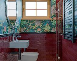Berlin - projekt części wnętrz domu jednorodzinnego - Łazienka, styl eklektyczny - zdjęcie od ABD Projects - Homebook