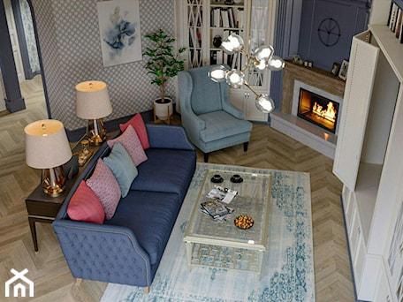 Aranżacje wnętrz - Salon: Berlin - projekt części wnętrz domu jednorodzinnego - Salon, styl klasyczny - ABD Projects. Przeglądaj, dodawaj i zapisuj najlepsze zdjęcia, pomysły i inspiracje designerskie. W bazie mamy już prawie milion fotografii!