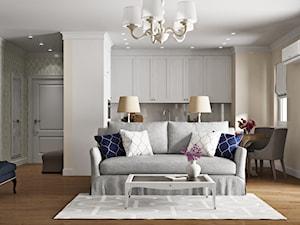 Elbląg - projekt mieszkania w stylu klasycznym