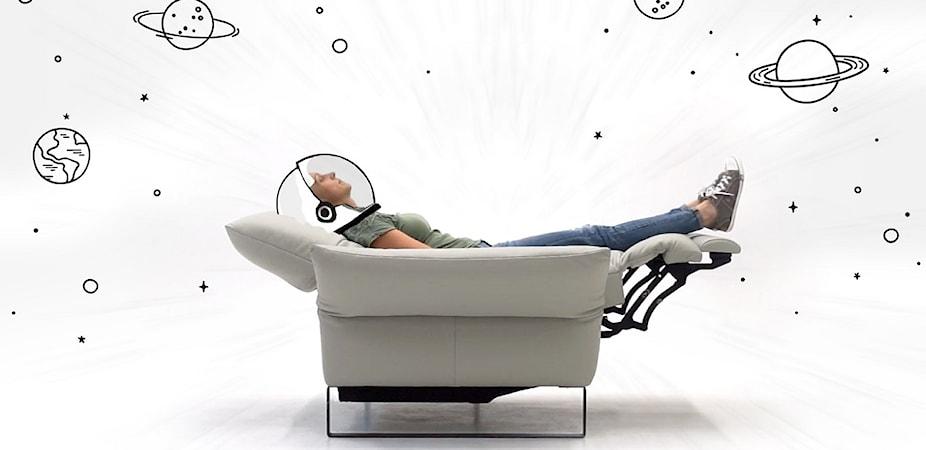Funkcja kardio i pozycja zero gravity – poczuj stan nieważkości we własnym fotelu!