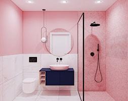 Pink Bathroom - zdjęcie od Pracownia Projektowa HybriDesign Adelina Czerbak - Homebook
