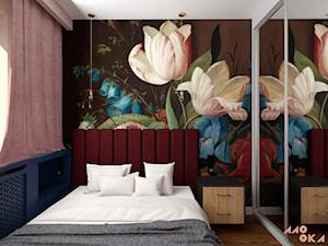 Eklektyczne Art Deco - sypialnia - zdjęcie od MOOKA Studio