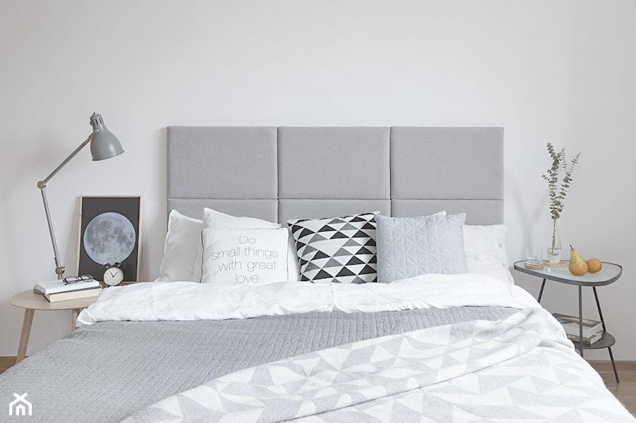 Projekt Sypialnia Zagłówek Tapicerowany Do łóżka