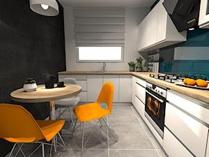 Kuchnia nowoczesna w bieli - zdjęcie od let's design