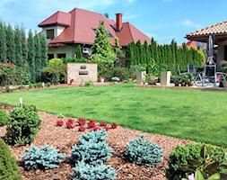 Ogród w sercu miasta - Duży ogród za domem, styl nowoczesny - zdjęcie od Czas na zielen - Homebook