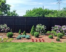 Ogród w sercu miasta - Średni ogród za domem, styl nowoczesny - zdjęcie od Czas na zielen - Homebook