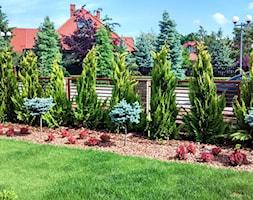 Ogród w sercu miasta - Średni ogród, styl nowoczesny - zdjęcie od Czas na zielen - Homebook
