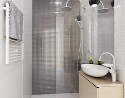 PROJEKT MIESZKANIA 55 m2 - Łazienka, styl minimalistyczny - zdjęcie od STUDIO MAC - Homebook
