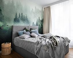 Mieszkanie dla ip-design.pl - Sypialnia, styl skandynawski - zdjęcie od Mikołaj Dąbrowski - Homebook