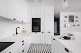biała kuchnia, kuchnia w bieli, kuchnia otwarta