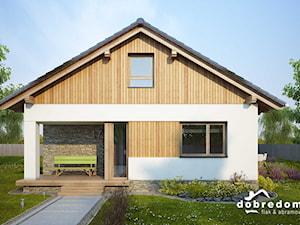 Projekt domu Ametyst wraz z wizualizacjami wnętrz