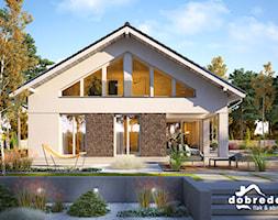 Jowita II, 121,30 m2 - zdjęcie od Pracownia Projektowa Dobre Domy Flak & Abramowicz - Homebook
