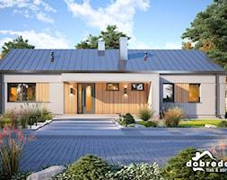 Salma III, 122,40 m2 - zdjęcie od Pracownia Projektowa Dobre Domy Flak & Abramowicz - Homebook