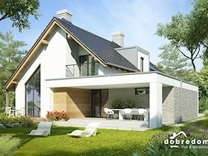 Projekt domu z dachem płaskim czy spadzistym? Który z nich wybrać?
