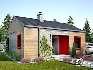 Drewniana elewacja na domach - 7 projektów z okładziną drewnianą