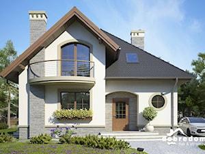 Bella, czyli projekt pięknego domu dla niewielkiej rodziny