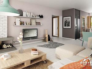 Projekt domu Fabia V wraz z wizualizacją wnętrz