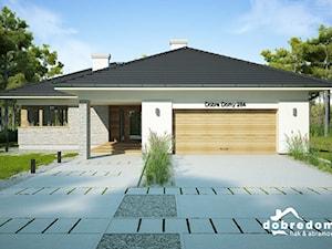 Nela i Miriam III – funkcjonalne projekty domów parterowych z dwustanowiskowym garażem