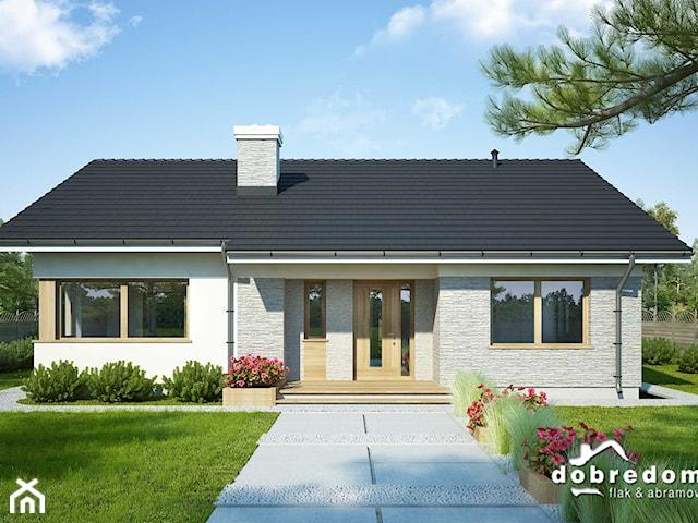 Projekt domu Flawia wraz z wizualizacją wnętrz