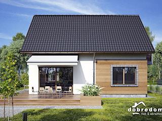 Projekt domu Malina z wizualizacją wnętrz