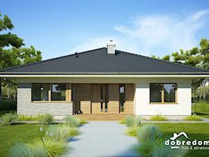 Projekt domu Fabia z wizualizajami wnętrz
