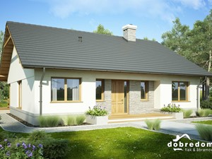 Projekt domu Justynian Mały