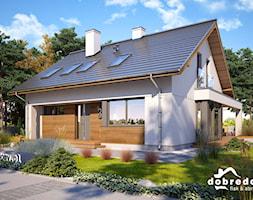 Konwalia, 136,30 m2 - zdjęcie od Pracownia Projektowa Dobre Domy Flak & Abramowicz - Homebook
