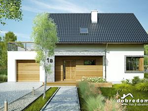 Projekt domu Nina z wizualizacją wnętrz